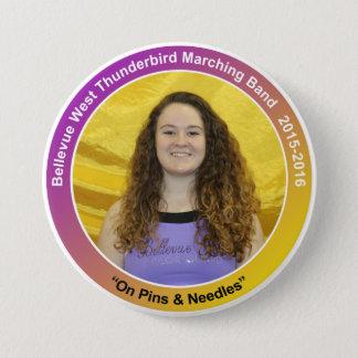 CG-Sr-Erin 7.5 Cm Round Badge