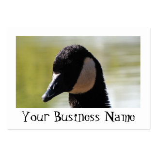 CGF Canada Goose Face Business Card Template