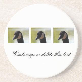 CGF Canada Goose Face Drink Coaster