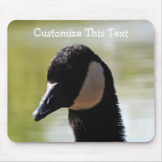 CGF Canada Goose Face Mouse Pad