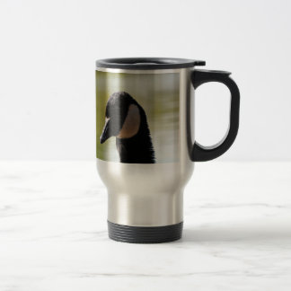 CGF Canada Goose Face 15 Oz Stainless Steel Travel Mug