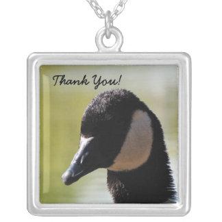 CGF Canada Goose Face Necklaces