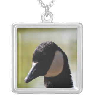 CGF Canada Goose Face Custom Necklace