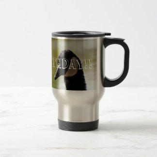 CGF Canada Goose Face Stainless Steel Travel Mug
