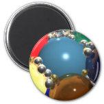 CGI Spheres Magnets