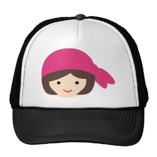 CGirlRocksP4 Mesh Hats