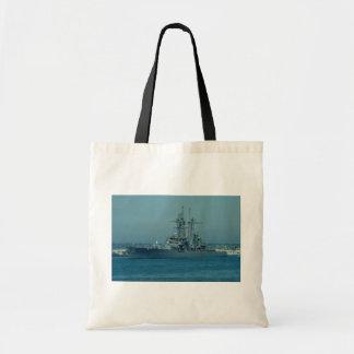 """CGN 35 """"Truxton"""", nuclear powered cruiser, San Die Canvas Bags"""