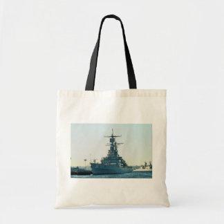 "CGN 39 ""USS Texas"", nuclear powered cruiser, San D Canvas Bag"
