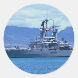 CGN 41 USS Arkansas nuclear powered cruiser Stickers