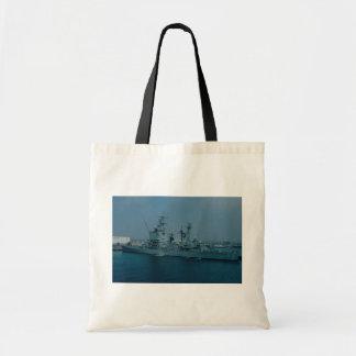 CGN 9 cruiser, nuclear powered Canvas Bag