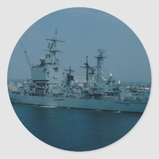 CGN 9 cruiser nuclear powered Sticker