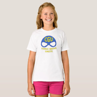 CGU Mask Logo Shirt Kids