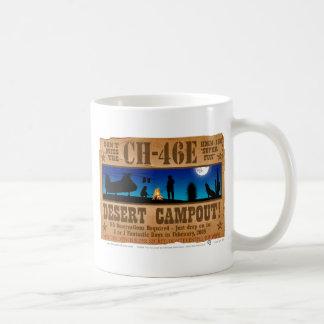 CH-46 Desert Campout Classic White Coffee Mug