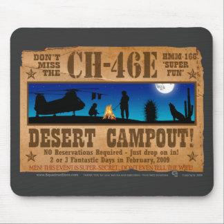 CH-46 Desert Campout Mouse Pad