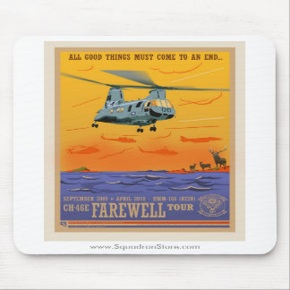 CH-46 Farewell Mouse Pad