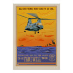 CH-46 Farewell Poster