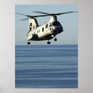 CH-46 Sea Knight Poster