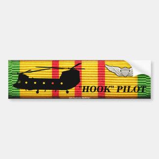"CH-47 ""Hook"" Pilot - VSM Ribbon Bumper Sticker"