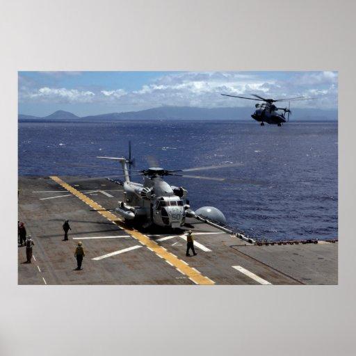 CH-53D A Sea Stallion Poster