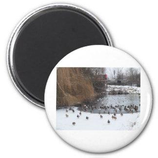 Chaaarge!!! 6 Cm Round Magnet