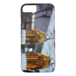 Chablis; two cool beers at 42 degrees hot summer iPhone 8/7 case