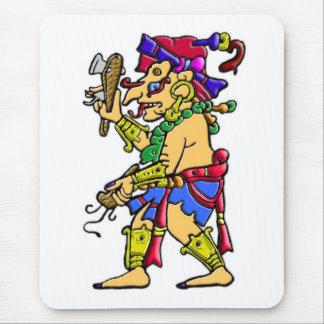 Chac mayan rain god mousepads