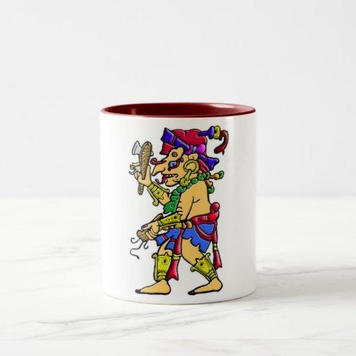 Chac mayan rain god mug