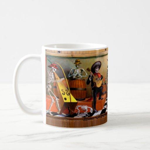 "Chacho's.Mural., ""EL GRAN FANDANGO"" Coffee Mugs"