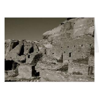 Chaco Canyon Card