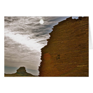 Chaco Canyon Greeting Card