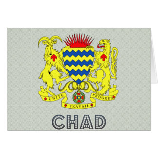 Chad Coat of Arms Greeting Card