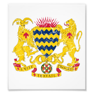 Chad Coat Of Arms Photo Print