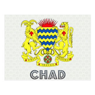 Chad Coat of Arms Post Cards