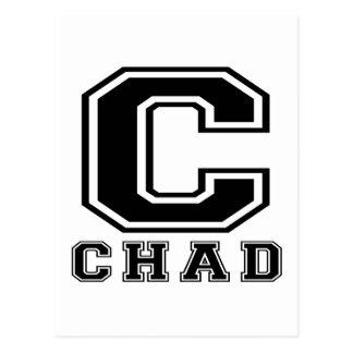 Chad Designs Postcard