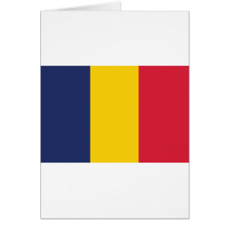 Chad Flag Greeting Card