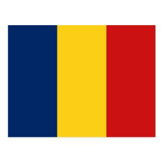 Chad Flag Postcard
