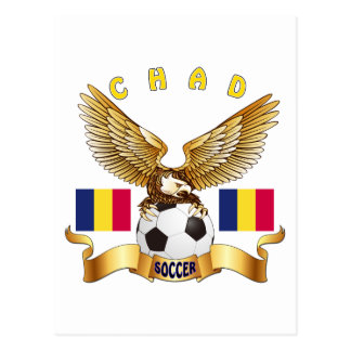 Chad Football Designs Postcard