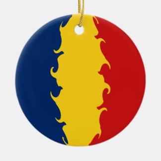 Chad Gnarly Flag Ornament