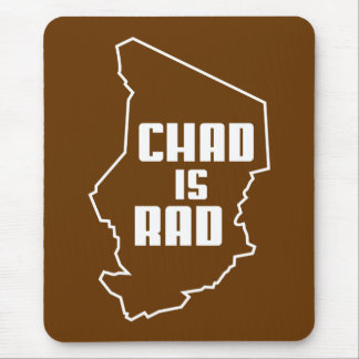 Chad is Rad Outline Mouse Pad