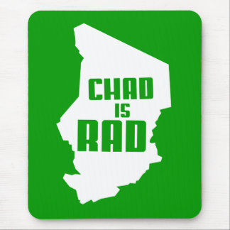 Chad is Rad (solid) Mouse Mat