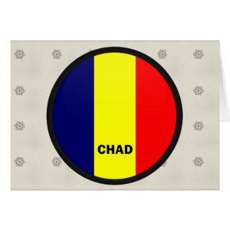 Chad Roundel quality Flag Card