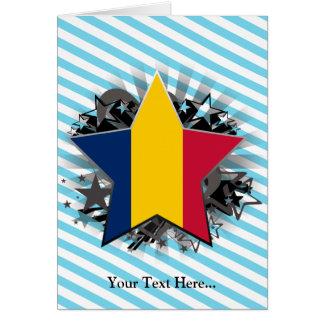 Chad Star Greeting Card