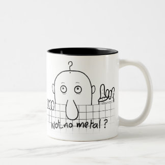 Chad Wot No Metal Mug