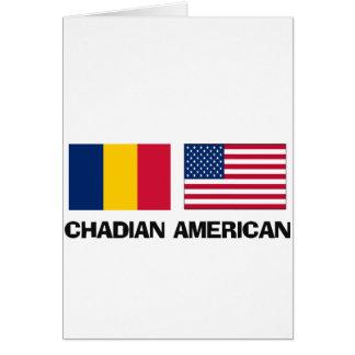 Chadian American Greeting Card