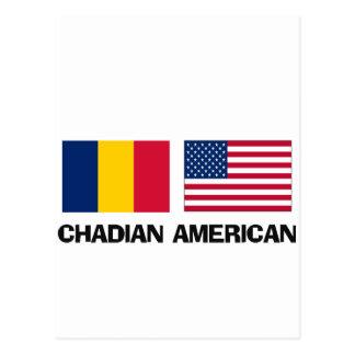 Chadian American Post Card