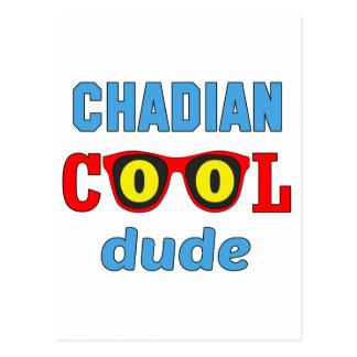 Chadian Cool Dude Postcard