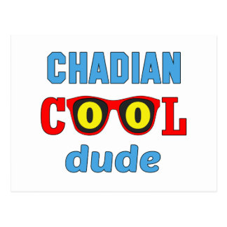 Chadian Cool Dude Postcard