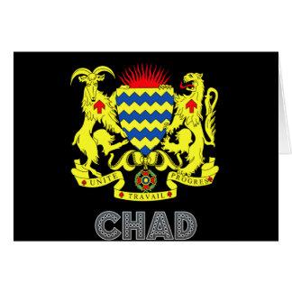 Chadian Emblem Greeting Card