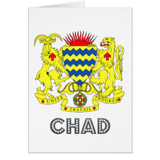 Chadian Emblem Cards