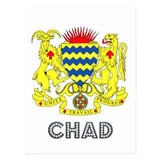 Chadian Emblem Post Cards